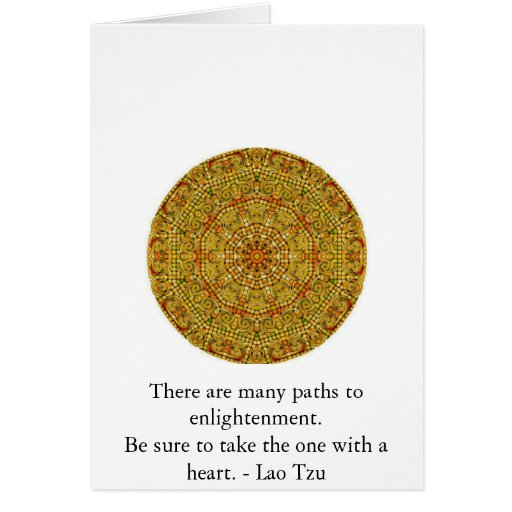 There are many paths to enlightenment............. greeting card