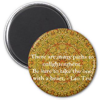 There are many paths to enlightenment fridge magnets