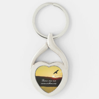There Are No Coincidences Keychain