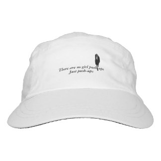 There are no girl push-ups hat