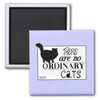 There Are No Ordinary Cats - All Colours Magnet