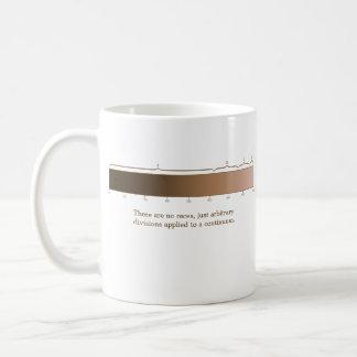 There Are No Races mug