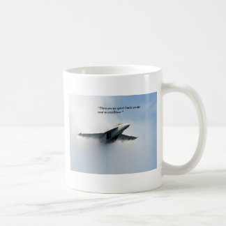 There are no speed limits on classic white coffee mug