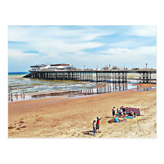 There are records of a pier in Cromer back as far Post Card