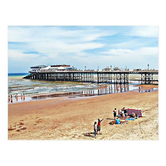 There are records of a pier in Cromer back as far Postcard