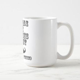 There are some questions you just moustache coffee mug