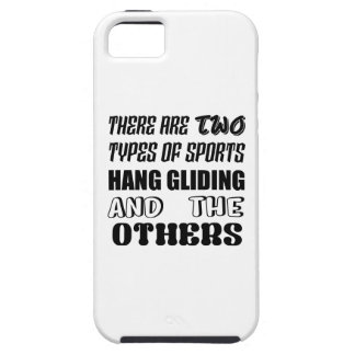There are two types of sports Hang Gliding and oth iPhone SE/5/5s Case