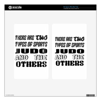There are two types of sports Judo and others Decals For Kindle Fire