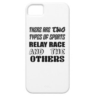 There are two types of sports Relay Race and other iPhone SE/5/5s Case