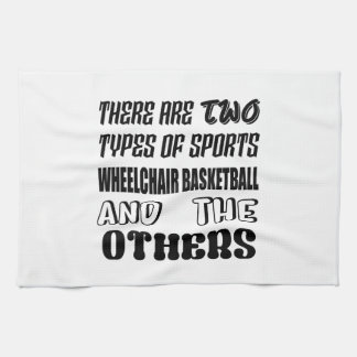 There are two types of sports Wheelchair basketbal Towel