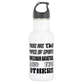 There are two types of sports Wheelchair basketbal Water Bottle