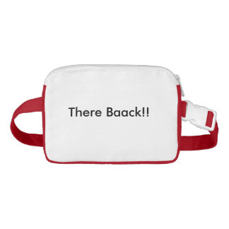There Baack!! Fanny Pack