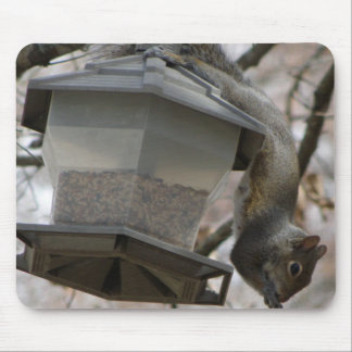 There Goes The Bird Seed Mousepad