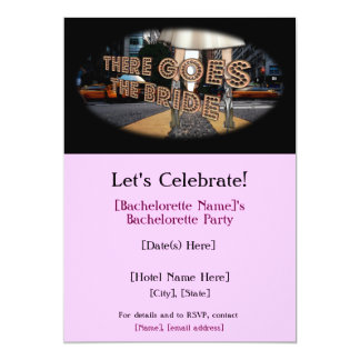 There Goes the Bride Bachelorette Party Invites