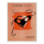 There I Go Song Sheet Cover Poster