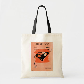 There I Go Song Sheet Cover Tote Bag