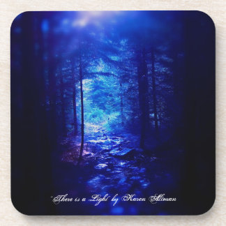 """There is a Light"" coaster set of 6"