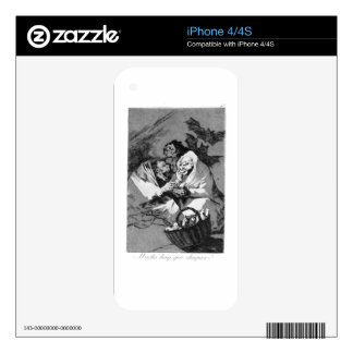 There is a lot to suck by Francisco Goya Skins For iPhone 4