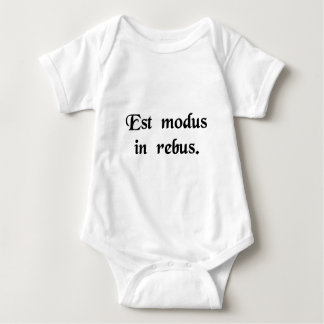 There is a middle ground in things. baby bodysuit