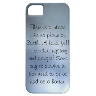 there is a place blue grey iphone 5 case