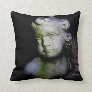 """""""There Is A Season"""" Cemetery Pillow"""