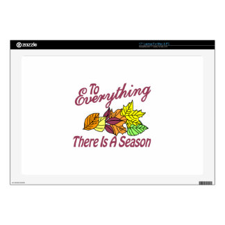 There is a Season Laptop Skin
