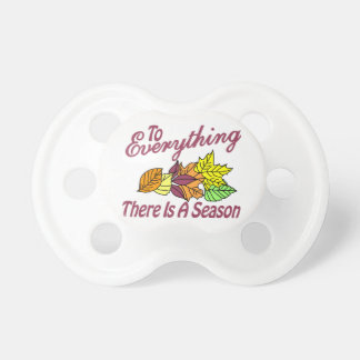 There is a Season Pacifier