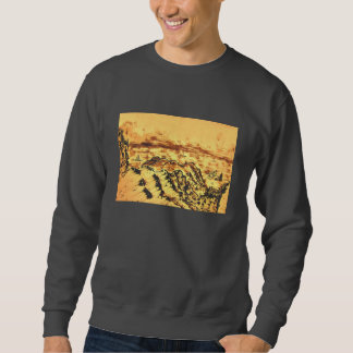 There is a shrine in the mountain of heart, sweatshirt