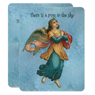 There Is A Song In The Sky Card