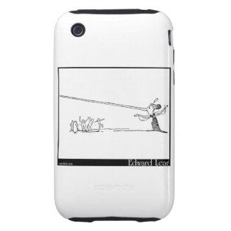 There is a young lady, whose nose tough iPhone 3 case
