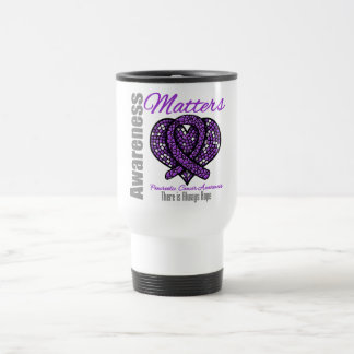 There is Always Hope - Pancreatic Cancer 15 Oz Stainless Steel Travel Mug