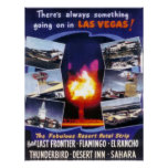 There Is Always Something Going On In Las Vegas Poster