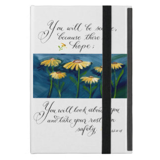 There is hope inspirational verse typography cases for iPad mini
