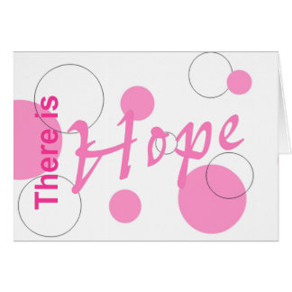 There is Hope~notecard Card