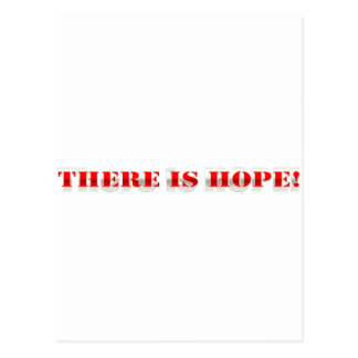 There is hope! postcard
