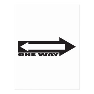 there is newer one way postcard