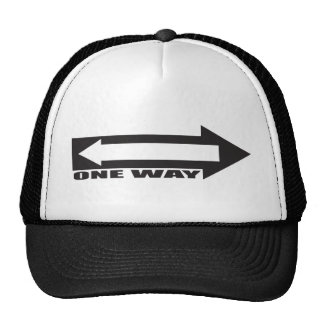 there is newer one way trucker hat