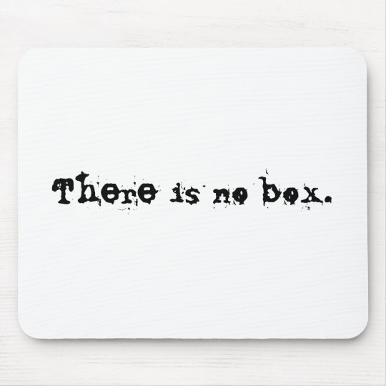 There is no box. mouse pad