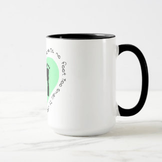There is no foot too small mug