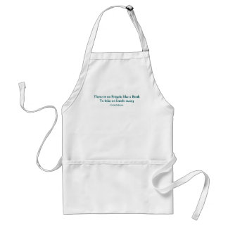 There Is No Frigate Like A Book Apron