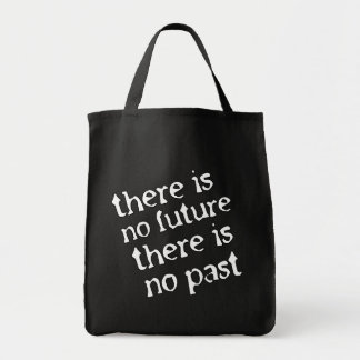 There is no future tote bag