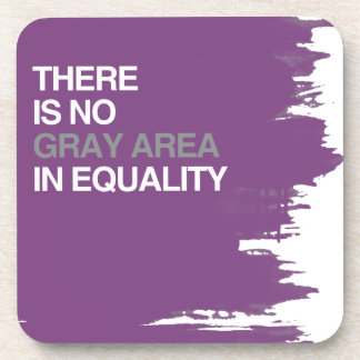 THERE IS NO GRAY AREA IN EQUALITY COASTER