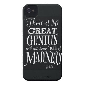 """""""There Is No Great Genius..."""" Case-Mate iPhone 4 Case"""
