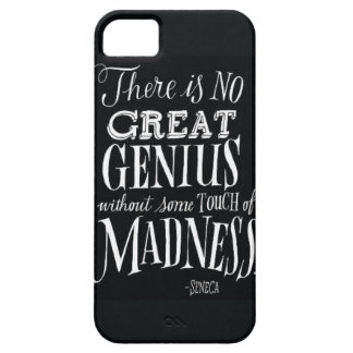 """""""There Is No Great Genius..."""" iPhone 5 Cases"""
