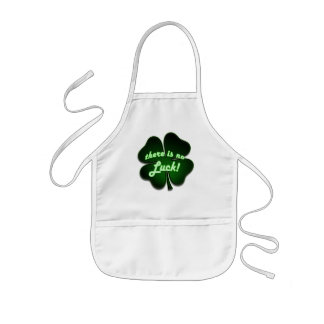 There is no Luck Kids' Apron