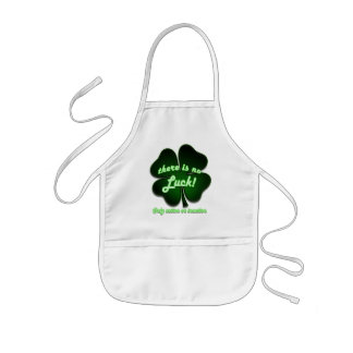 There is no Luck, only action or inaction Kids' Apron