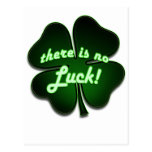 There is no Luck Postcard