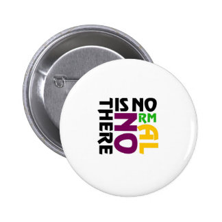 There Is No Normal 2 Inch Round Button