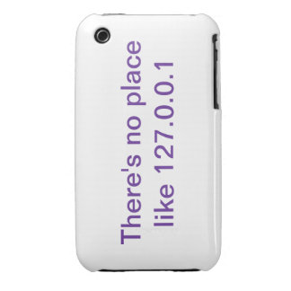 There is no place like 127.0.0.1 iPhone 3Gs case iPhone 3 Case-Mate Case