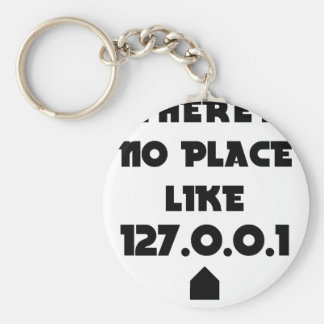 There is No place like Home Keychain